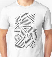 Ab Linear Zoom White Unisex T-Shirt