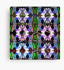patterns of life - flowers of logic Canvas Print