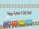 Happy Father's Day Train by FrankieCat
