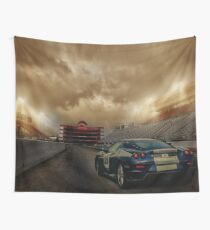 Race Time Wall Tapestry