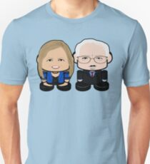 Bernie'bots: Greater Together Politico'bot Toy Robots Slim Fit T-Shirt