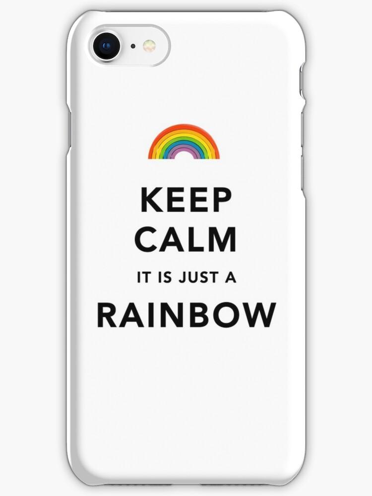 Keep Calm Rainbow by Ommik