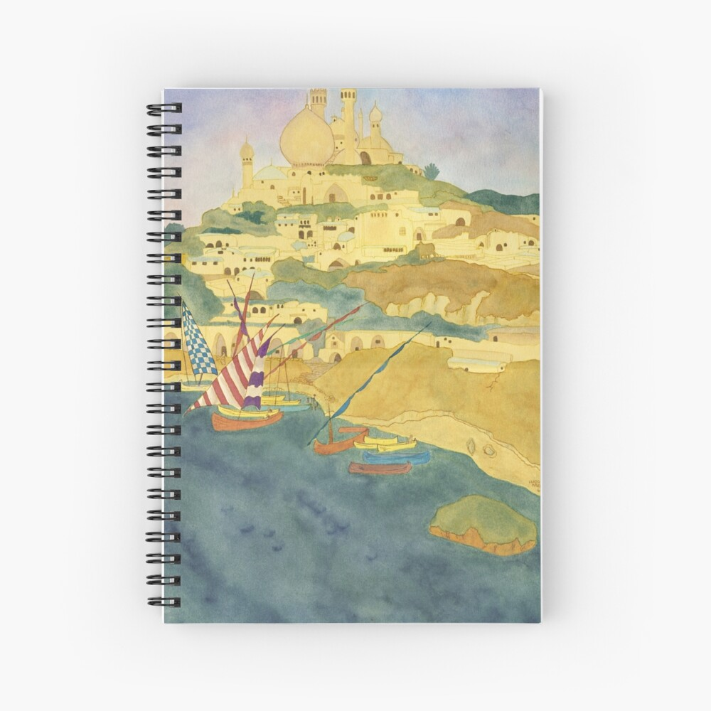 Arabian Nights City  Spiral Notebook