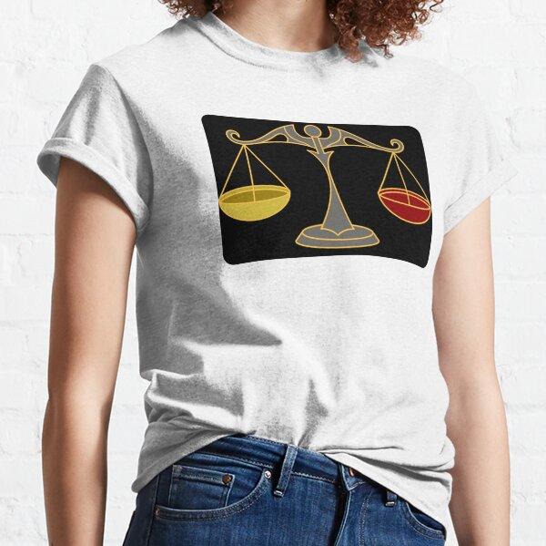 Fairness, Horizontalität Classic T-Shirt