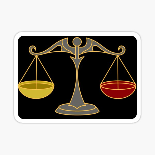 Fairness, Horizontalität Sticker