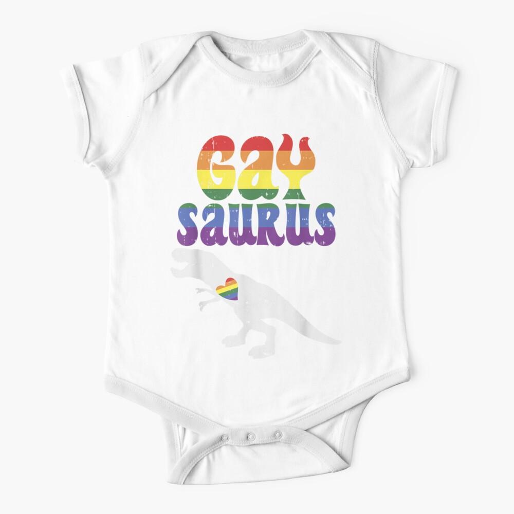 Gaysaurus Lustiger Trex-Dinosaurier Baby Body