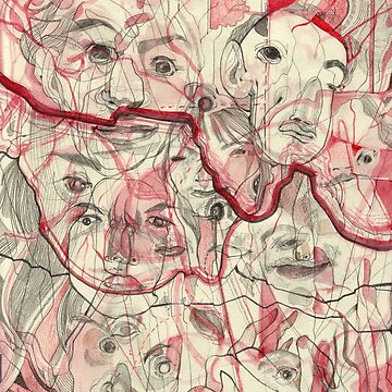 Map of Faces by sarahcrawley