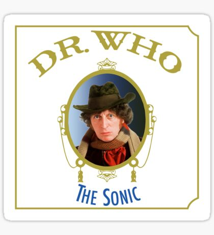 Dr. Who - The Sonic Sticker