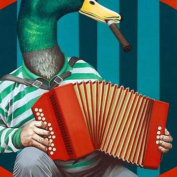 Accordion To This by KellyJadeART