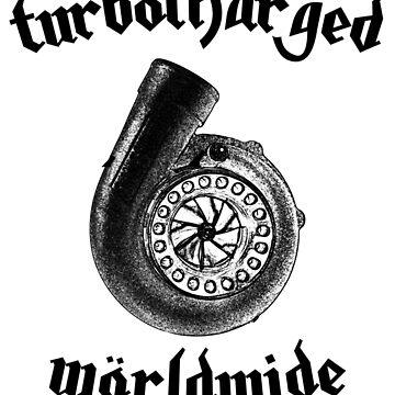 Turbocharged Worldwide by RagDesigns