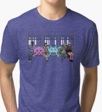 Space Invasion Tri-blend T-Shirt
