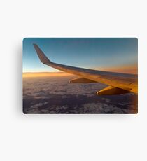 Flying into the Night Canvas Print