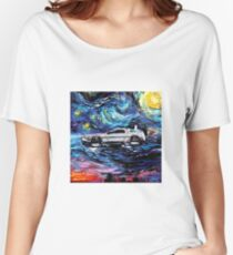 Pop Culture Mashup - Back to Van Gogh  Women's Relaxed Fit T-Shirt