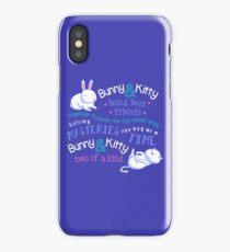 Bunny & Kitty iPhone Case