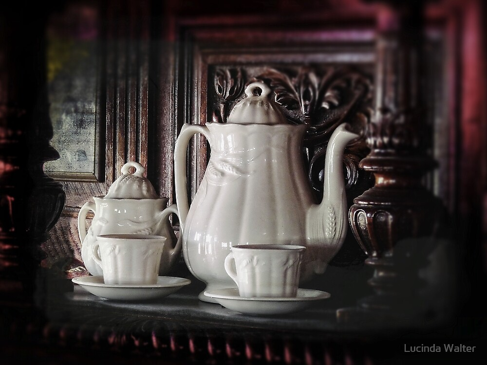 Tea Time by Lucinda Walter