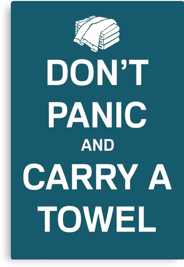 Take Your Towel Everywhere by Laura Morgan