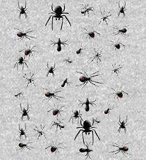 Creepy Spiders Pattern Kids Pullover Hoodie