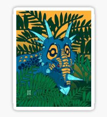 Styracosaurus Jungle Sticker