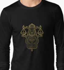 Libra gold Long Sleeve T-Shirt