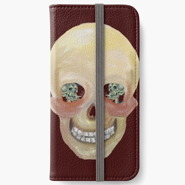 Sinful skull iPhone Wallet