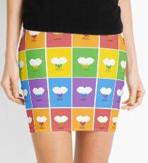 Color Me Loved Mini Skirt