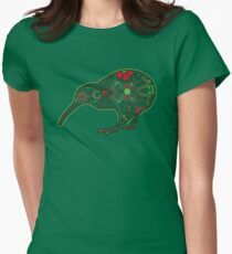 Day of the Kiwi Women's Fitted T-Shirt