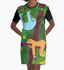 The nap time 2 Graphic T-Shirt Dress