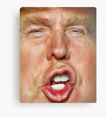 Donald Trump Cartoon Metal Print