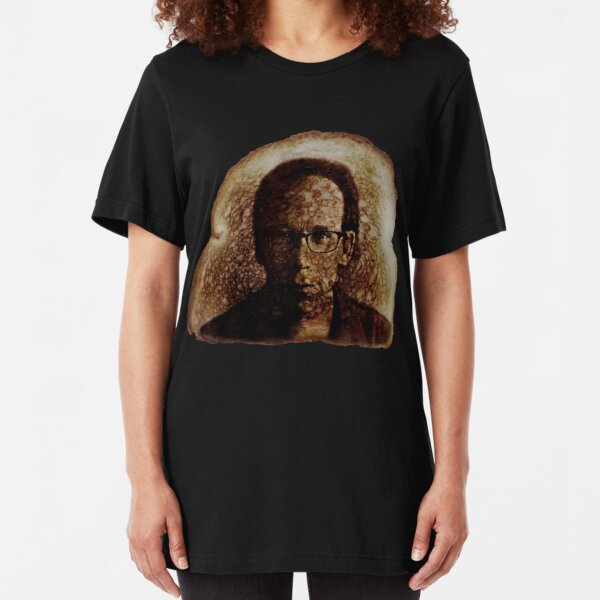 Lawrence Krauss Miracle Toast 2 Slim Fit T-Shirt