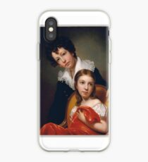 Michael Angelo and Emma Clara Peale , Rembrandt Peale iPhone-Hülle & Cover