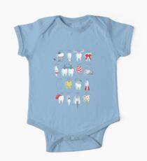 Zahnärztliche Definitionen Baby Body Kurzarm
