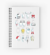 Dental Definitions Spiral Notebook