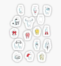 Dental Definitions Sticker