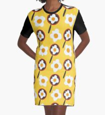 Scrambled eggs Graphic T-Shirt Dress