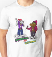 FLIGHT OF THE CONCHORDS - THE HIPHOPOPOTAMUS AND THE RHYMENOCEROS - TOGETHER ON THE ONE SHIRT T-Shirt