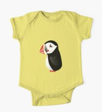 Cute cartoon puffin One Piece - Short Sleeve