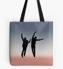 A manly sunset Tote Bag
