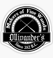 Ollivander's Wand Shop Logo Sticker