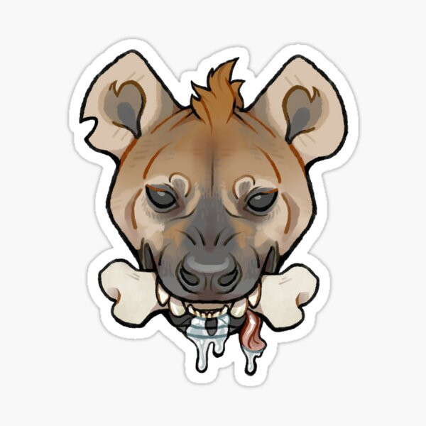 Hungry Yeen Sticker