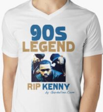 RIP KENNY GREENE (INTRO) Mens V-Neck T-Shirt
