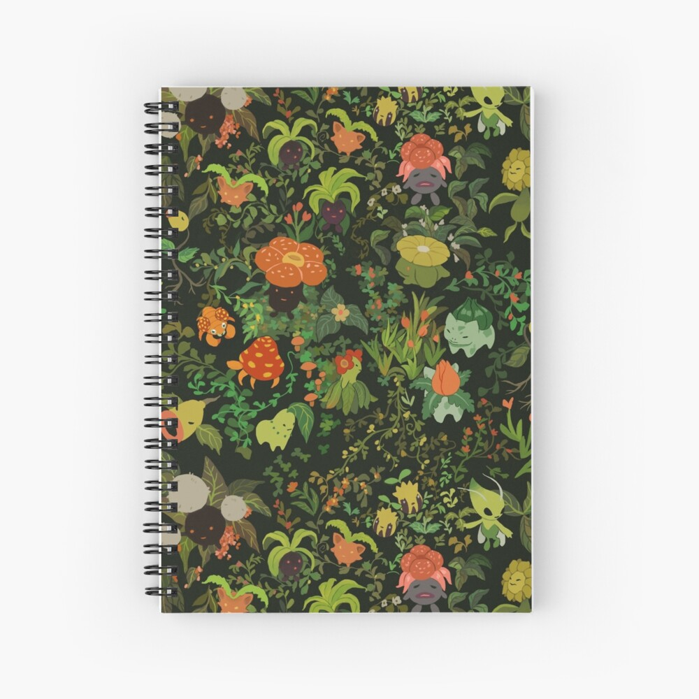 Forest Creatures Spiral Notebook