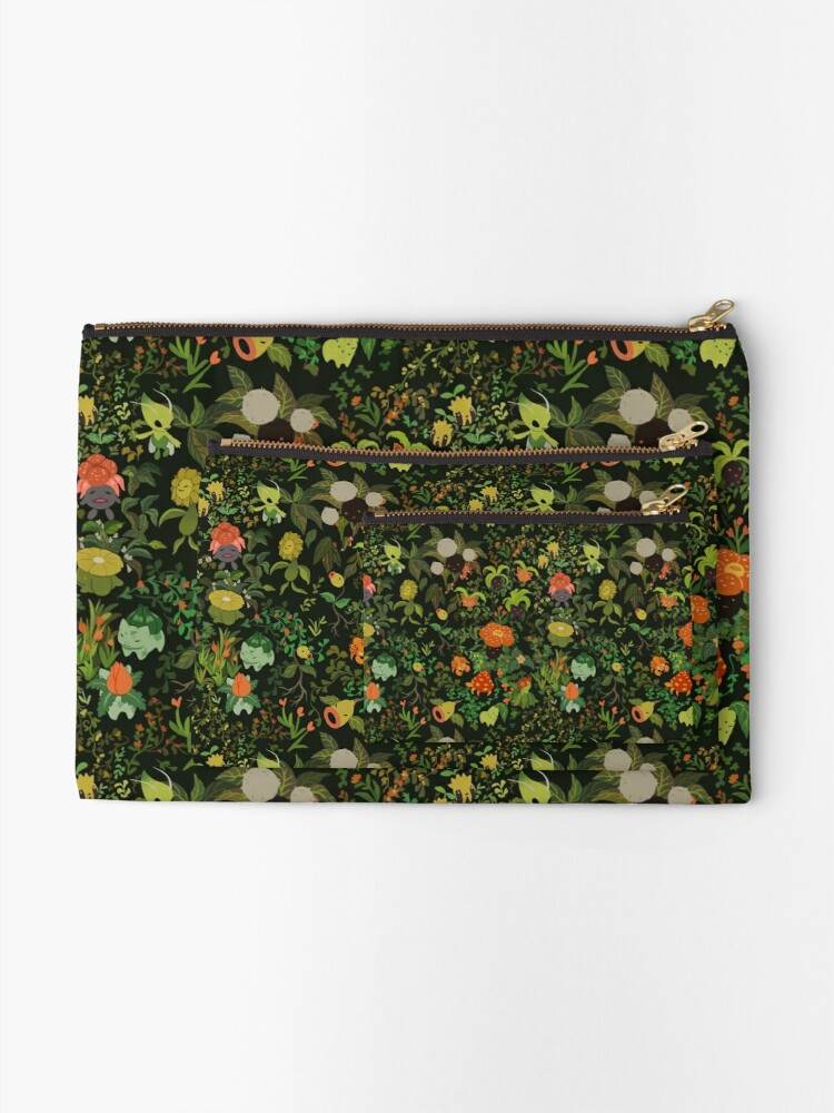 Alternate view of Forest Creatures Zipper Pouch