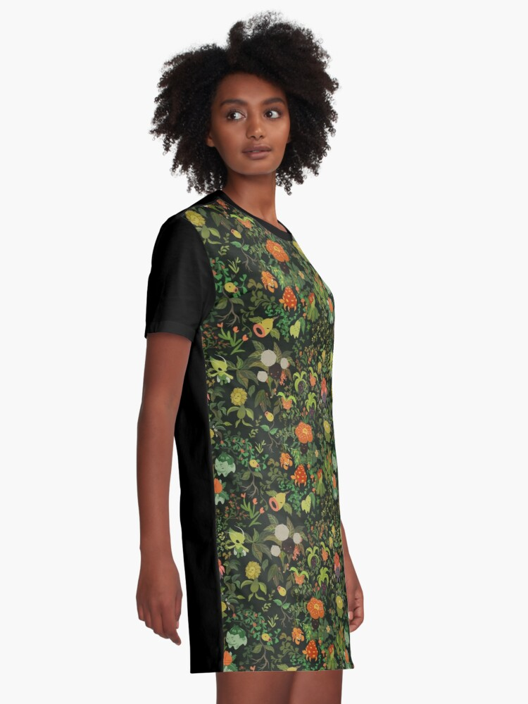 Alternate view of Forest Creatures Graphic T-Shirt Dress