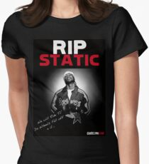 RIP STATIC (Limited Edition) Womens Fitted T-Shirt