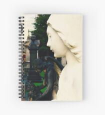 Angel of Purity Spiral Notebook