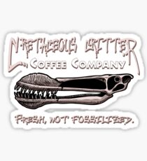 Cretaceous Critter Coffee Co. Sticker