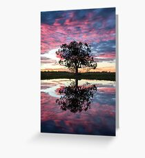 Mirror tree Greeting Card