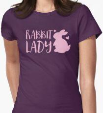 RABBIT LADY bunny's heart T-Shirt