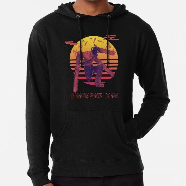 Chainsaw Man Sunset Lightweight Hoodie