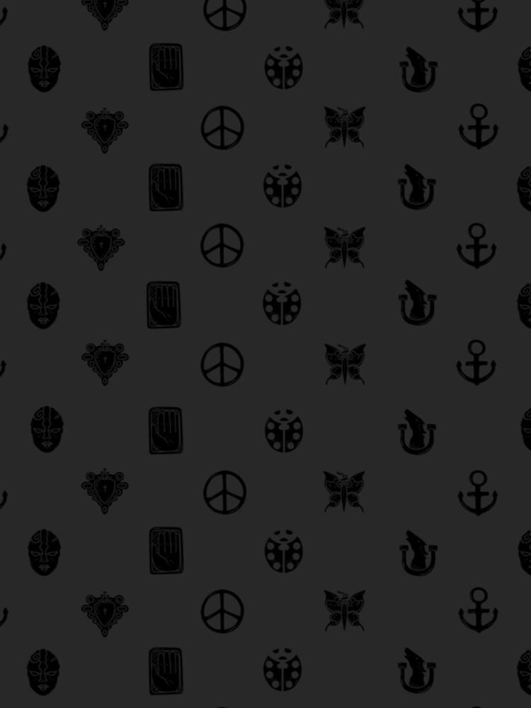 Bizarre Emblems [Ver. Negro] de redinthesea